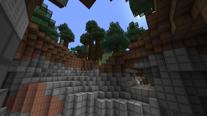 Mice Blocks - paysage escarpé