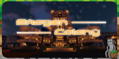 Photo of [Map] Exogen Colony [1.15.2]