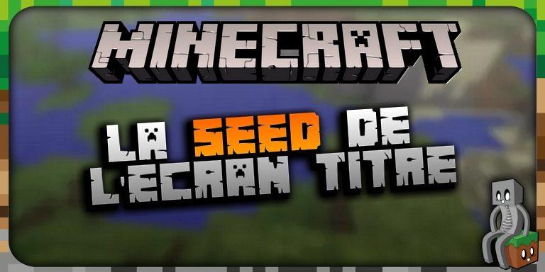 La Seed de L'écran Titre