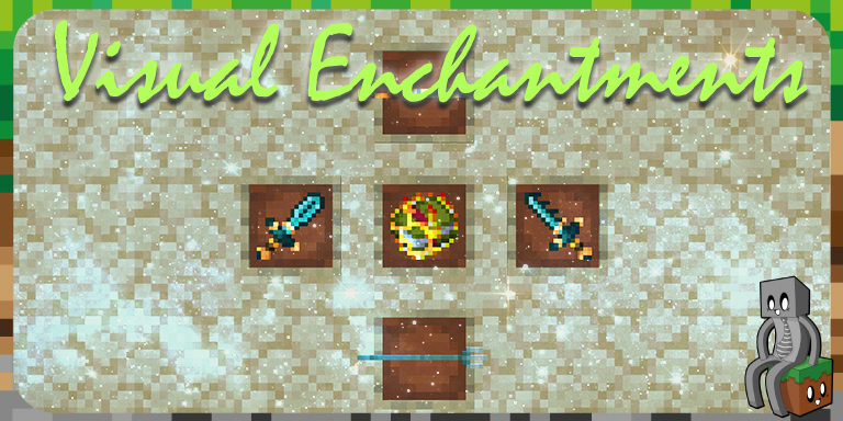 Resource Pack : Visual Enchantments [1.14 - 1.16]