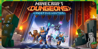 Photo of Minecraft Dungeons : DLC Creeping Winter
