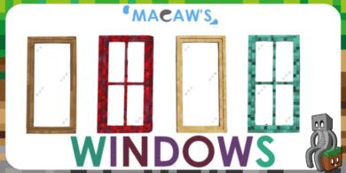 Photo of [Mod] Macaw's Windows [1.14.4 – 1.16.2]