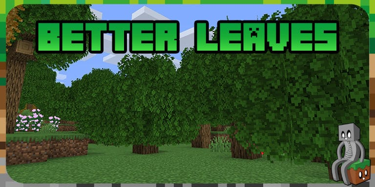 Resource Pack : Better Leaves