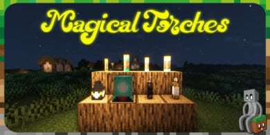Photo of [Mod] Magical Torches [1.14.4 – 1.16.3]