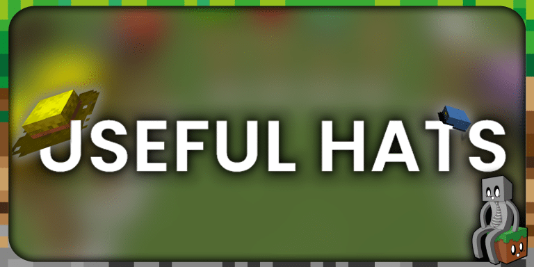Mod : Useful Hats