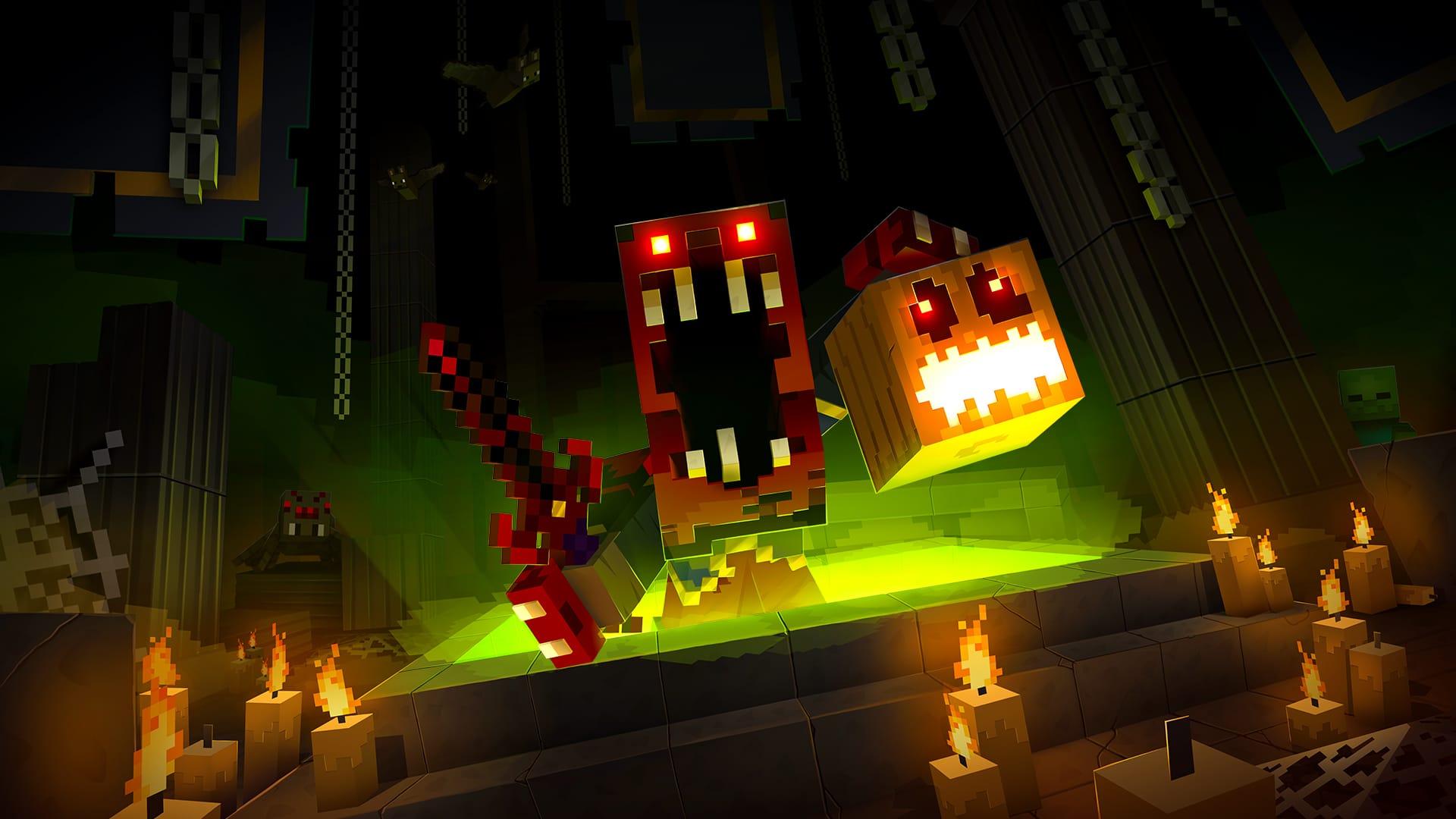 Halloween Minecraft Dungeons