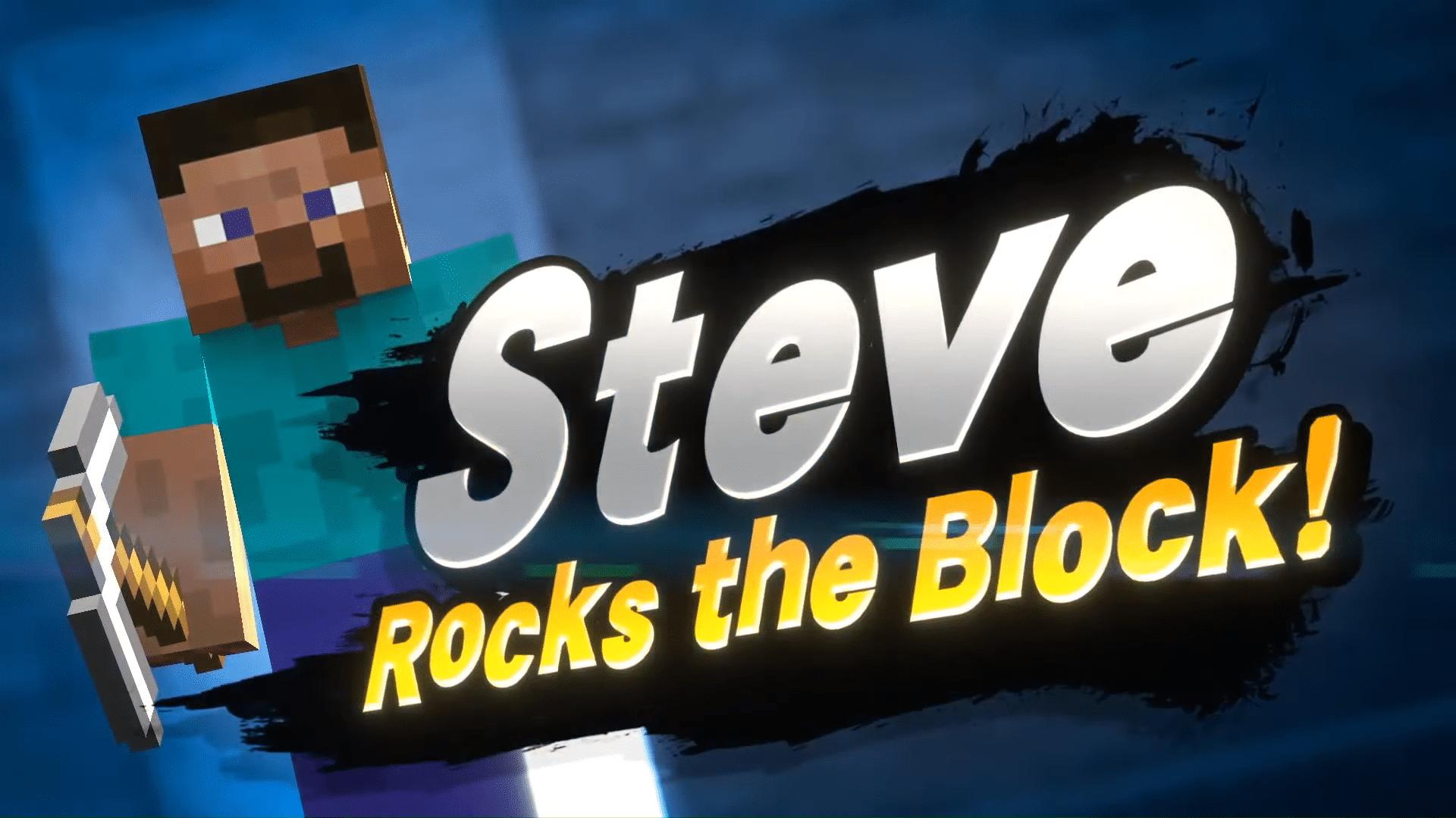 Steve Super Smash Bros Ultimate