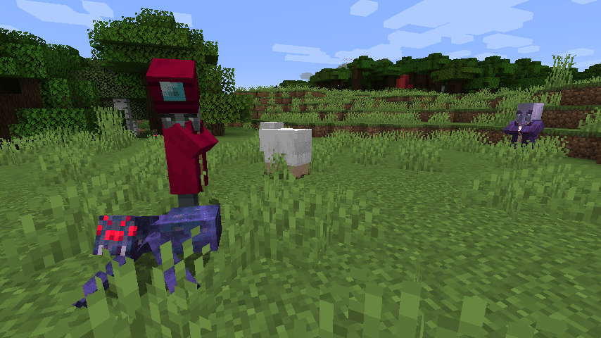Créature enchanteur provenant de Minecraft Dungeons