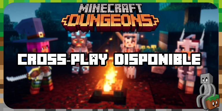 Minecraft Dungeons : Cross-Play