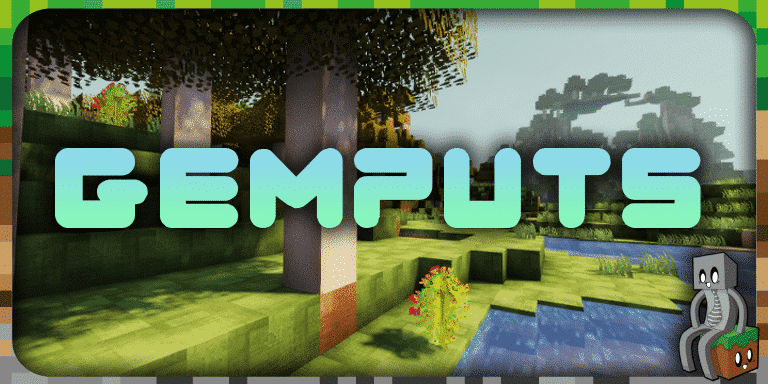 Resource Pack : GemPuts [1.13 - 1.15]