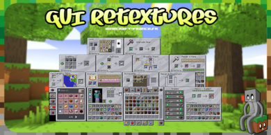 Resource Pack : GUI Retextures [1.16]