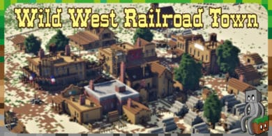 Map : Wild West Railroad Town