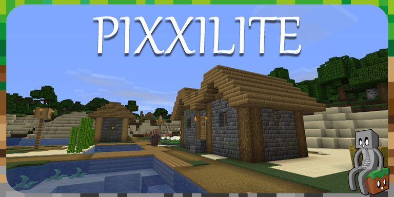 Resource Pack : Pixxilite