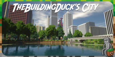 Map : TheBuildingDuck's City