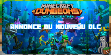 Minecraft Dungeons : DLC Hidden Depths