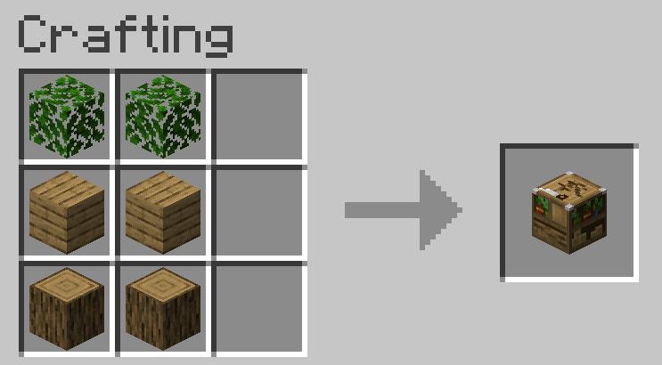 как сделать ящик в майнкрафте #9